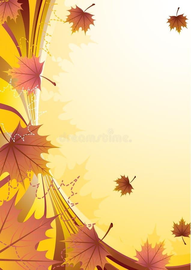 Herbst lizenzfreie abbildung