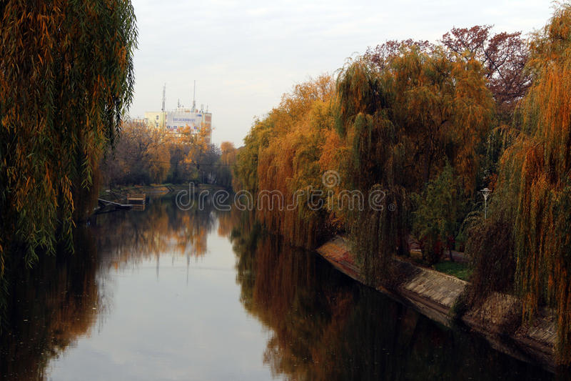 Herbst auf Begum lizenzfreies stockfoto