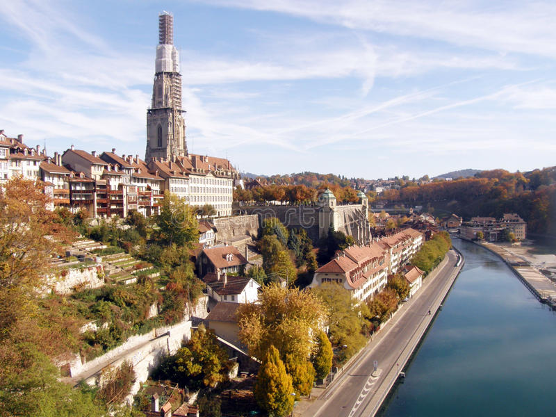 Herbst in Bern stockfoto