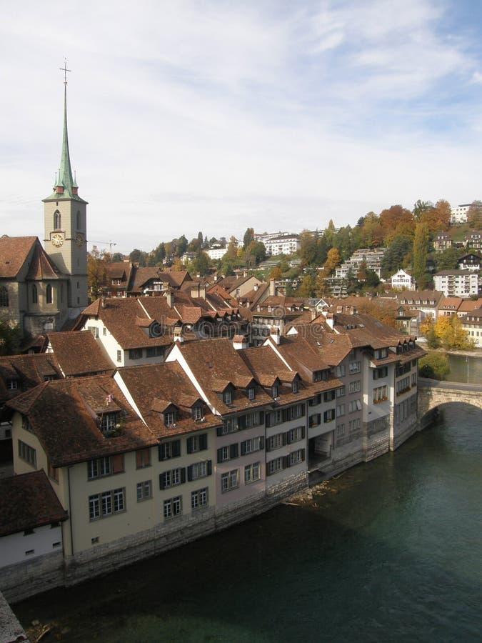 Herbst in Bern lizenzfreies stockbild