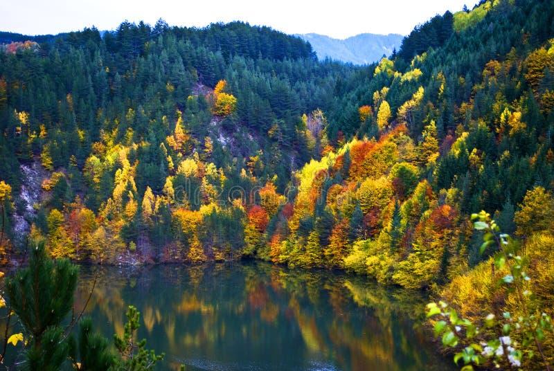 Herbst in Bulgarien stockbild