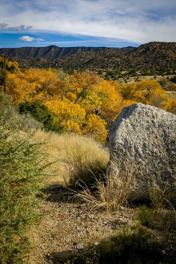 Herbst in Carnuel stockfoto