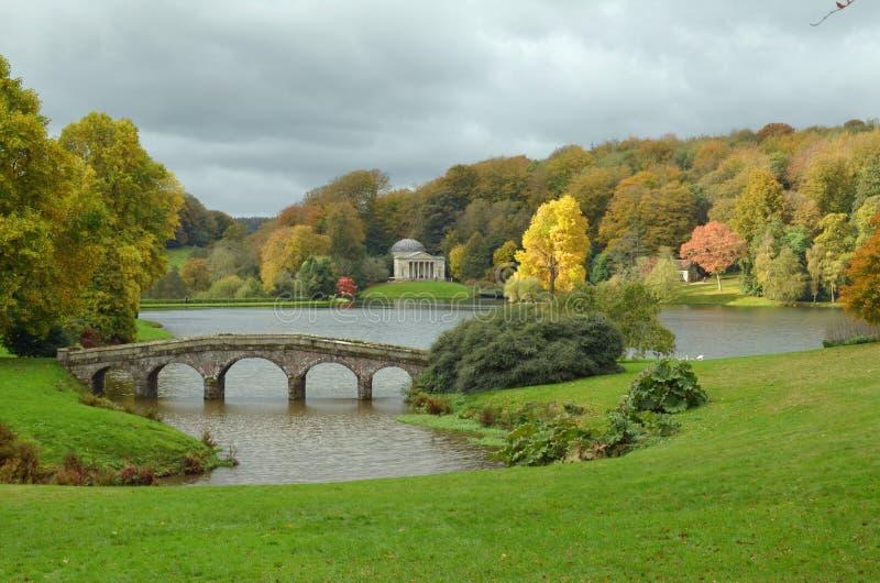 Herbst in der englischen Grafschaft von Somerset lizenzfreie stockbilder