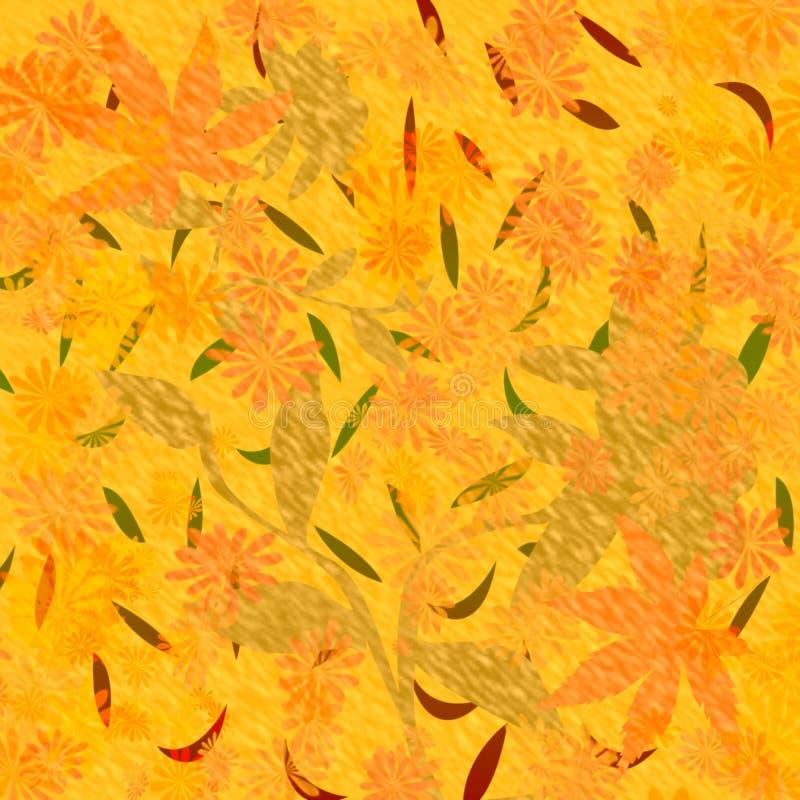 Herbst färbt Einklebebuch vektor abbildung