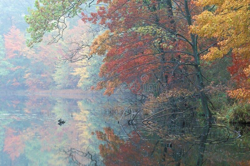 Herbst-Hall See stockfoto