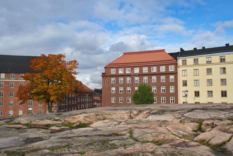 Herbst in Helsinki lizenzfreie stockbilder