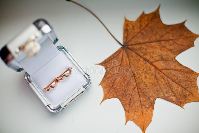 Herbst-Hochzeit lizenzfreie stockfotografie