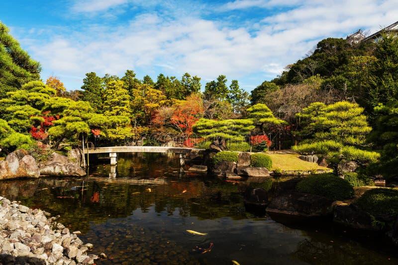 Herbst Koko-en Garten, Humeji stockfotos