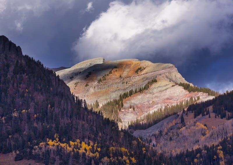 Herbst in Kolorado stockfoto