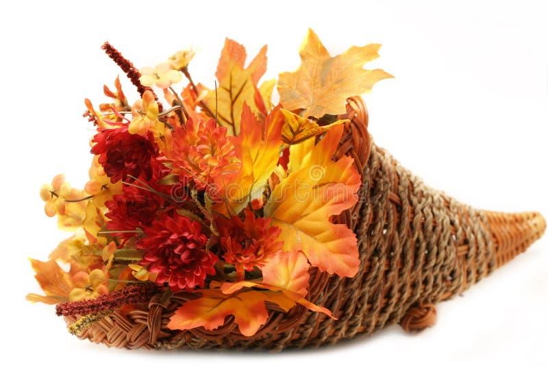Herbst-Korb stockbild