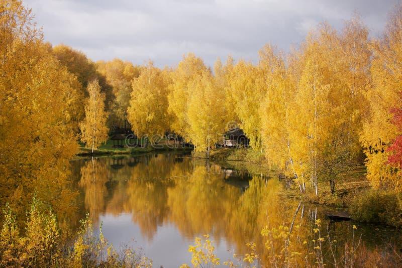 Herbst in Kostroma lizenzfreies stockfoto