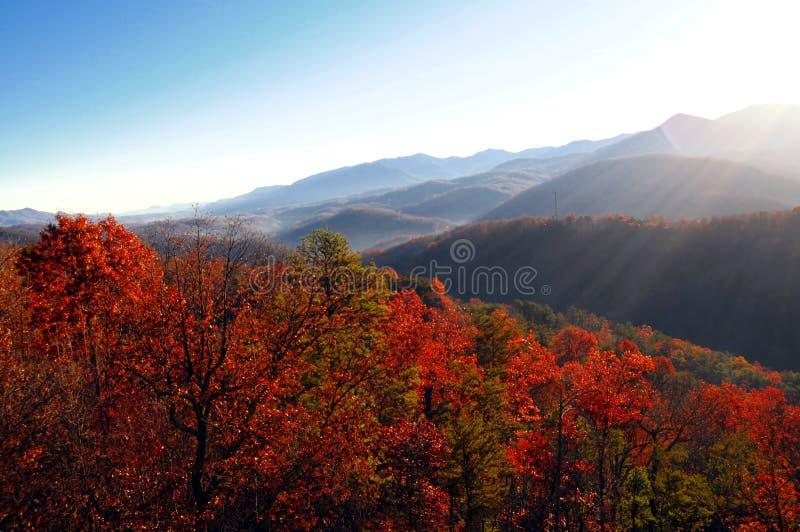 Herbst lanscape Ansicht lizenzfreies stockfoto