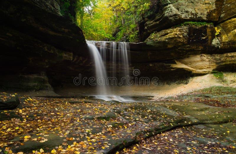 Herbst in LaSalle-Schlucht lizenzfreie stockbilder