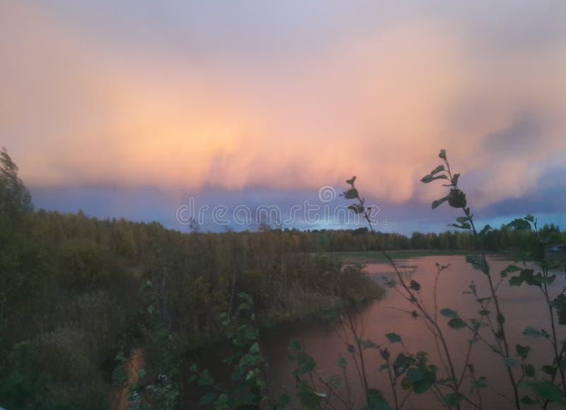 Herbst in Lulea, Schweden lizenzfreie stockfotografie