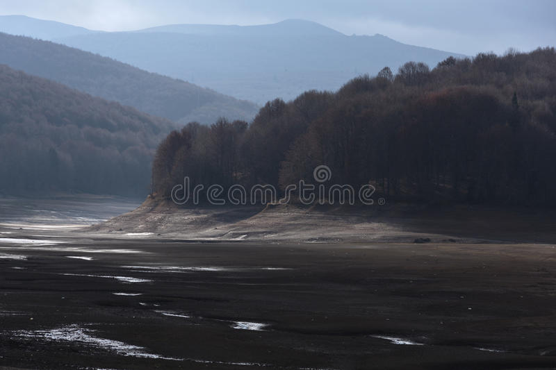 Herbst in Mavrovo, stockfoto