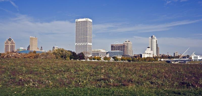 Herbst in Milwaukee lizenzfreie stockbilder