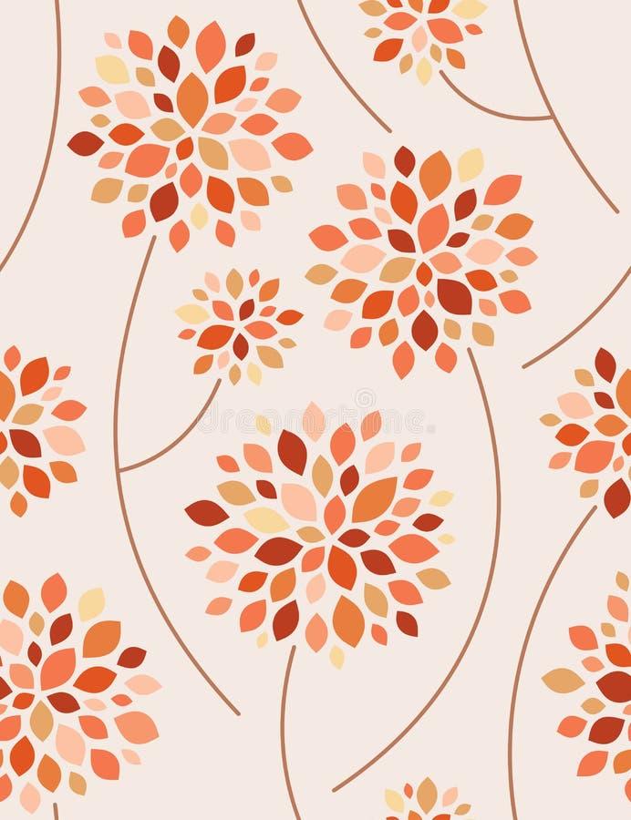 Herbst. Nahtloser Hintergrund. vektor abbildung