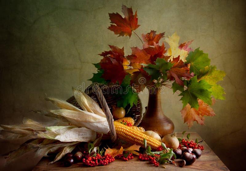 Herbst-noch Leben stockfotografie