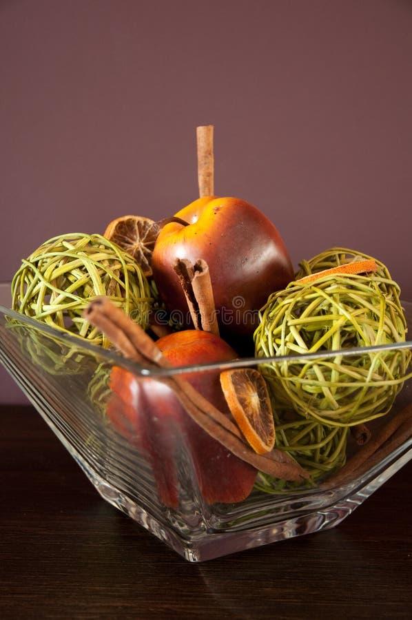 Herbst- oder Falldekoration lizenzfreies stockfoto