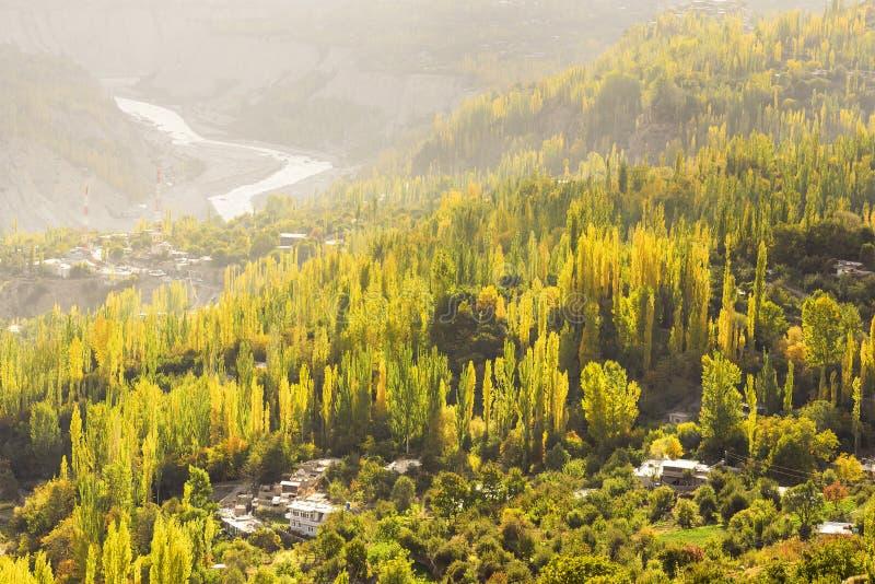 Herbst in Pakistan stockfotos