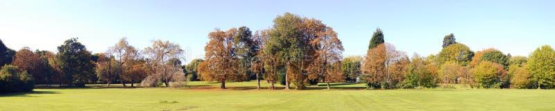 Herbst panoramisch stockfoto