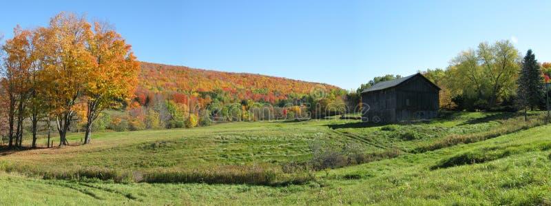 Herbst panoramisch lizenzfreies stockfoto