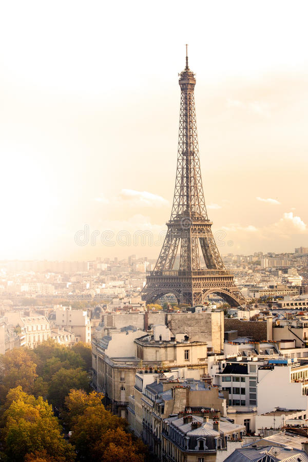 Herbst in Paris stockfotos