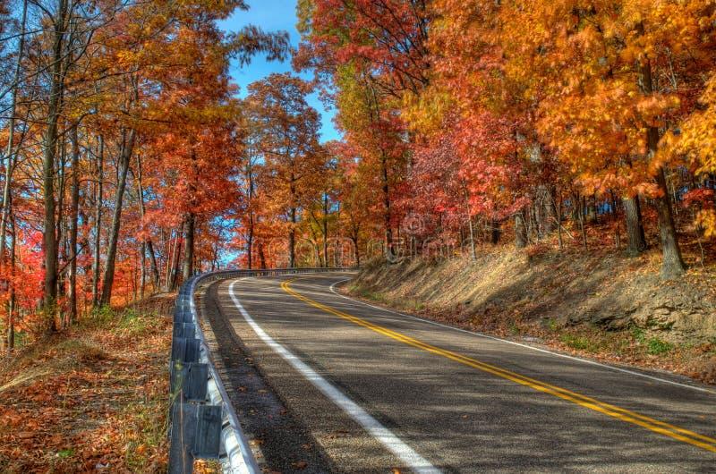 Herbst in Pennsylvania lizenzfreies stockbild