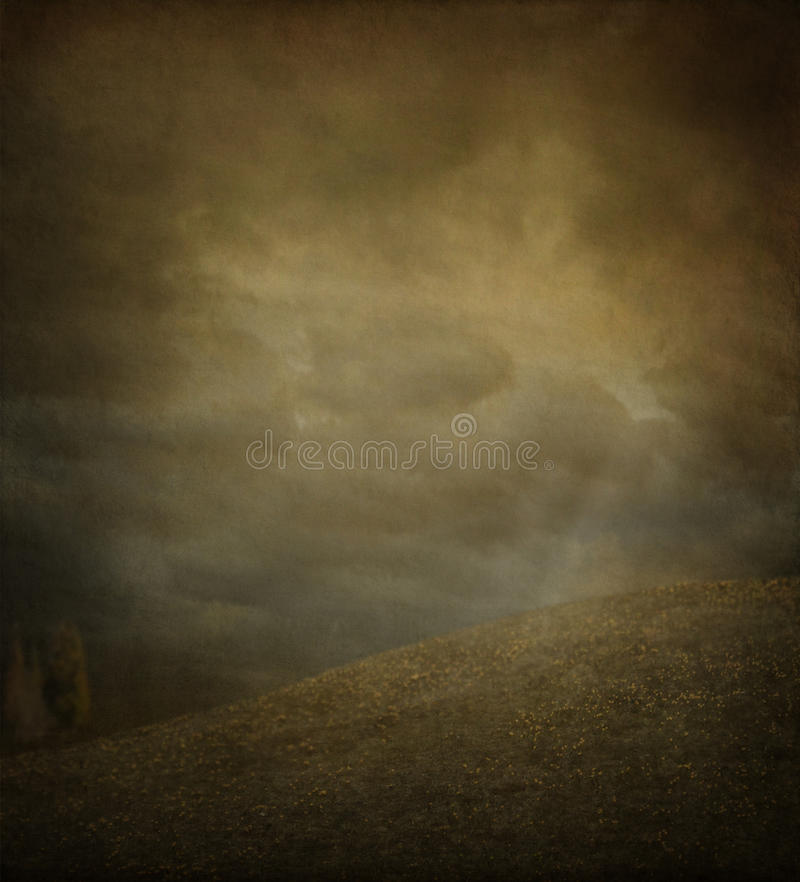 Herbst-Plakat zwei stockfoto