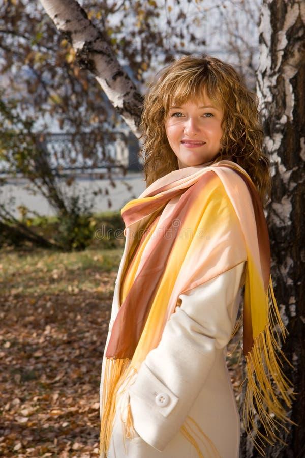 Herbst-Schönheit lizenzfreies stockfoto