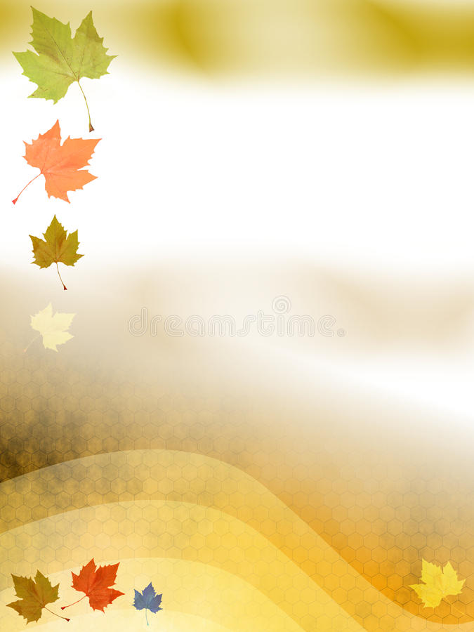 Herbst-Schablone vektor abbildung