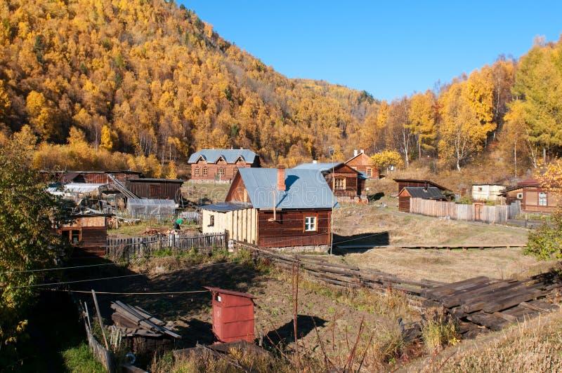 Herbst in See Baikal stockbilder