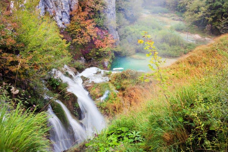 Herbst-Tal lizenzfreies stockbild