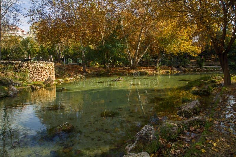 Herbst und Winter in der Türkei stockbild