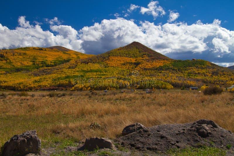 Herbst am Vega See-Nationalpark stockfotografie