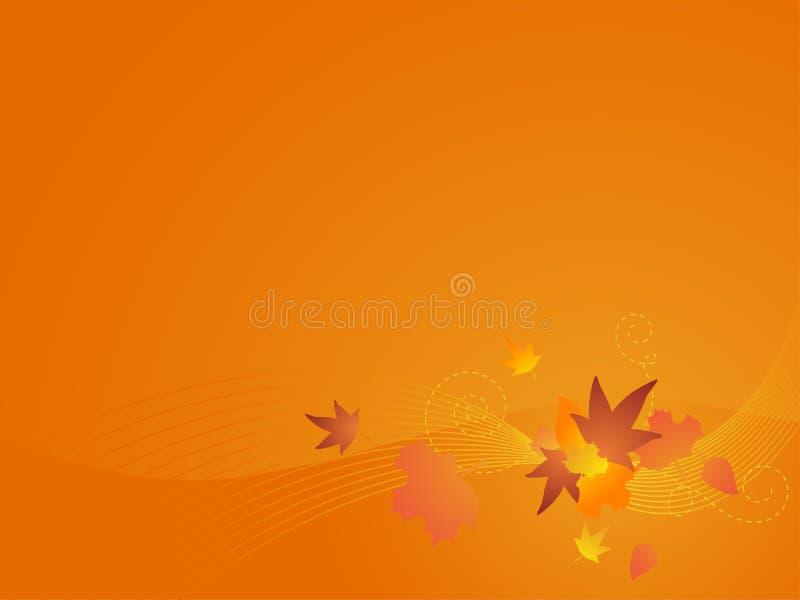 Herbst-vektorhintergrund stock abbildung