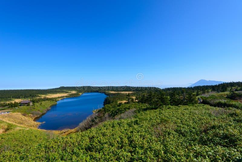Herbst von Mt Hachimantai lizenzfreies stockfoto