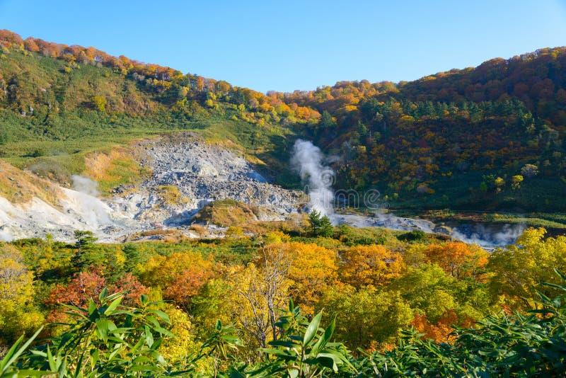 Herbst von Mt Hachimantai lizenzfreie stockfotos