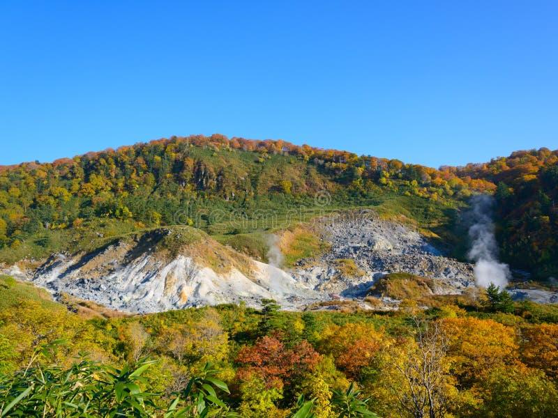 Herbst von Mt Hachimantai stockbild