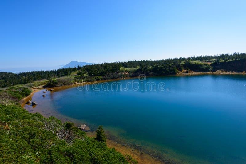 Herbst von Mt Hachimantai lizenzfreie stockbilder