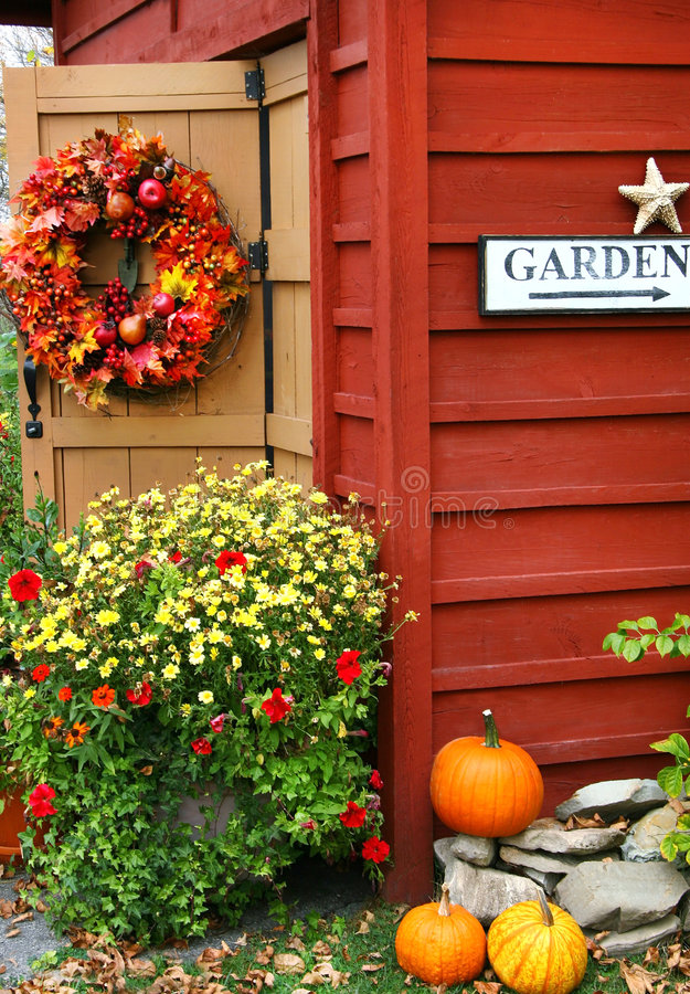 Herbst Wreath stockfotografie