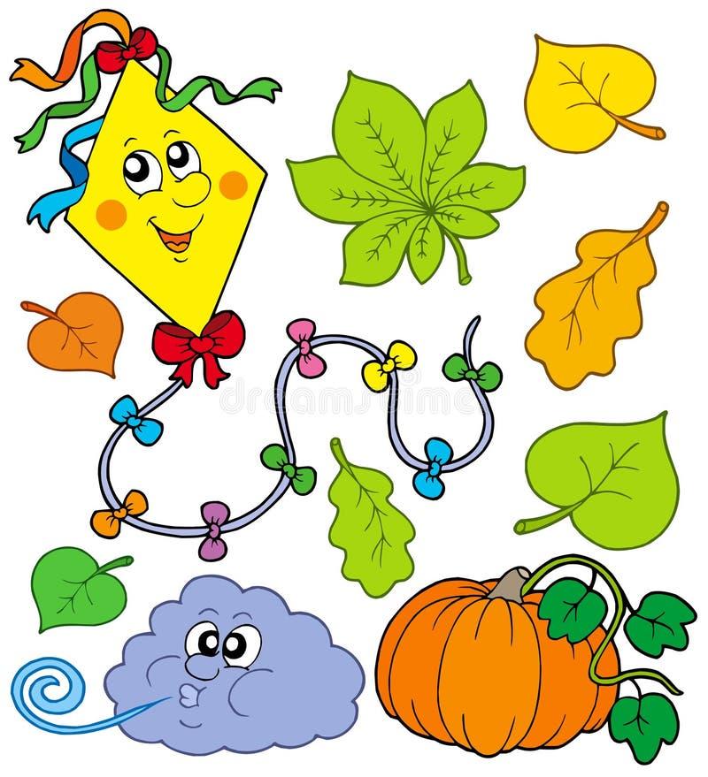 Herbstansammlung 1 lizenzfreie abbildung
