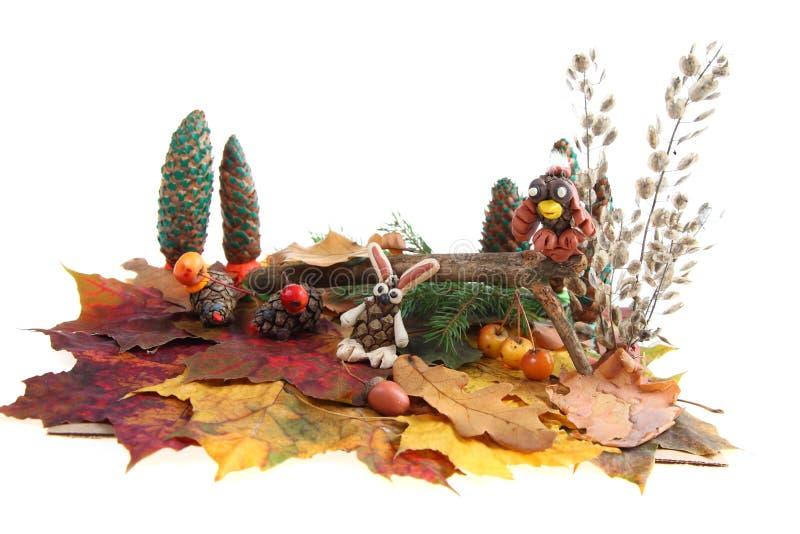 Herbstaufbau stockfoto