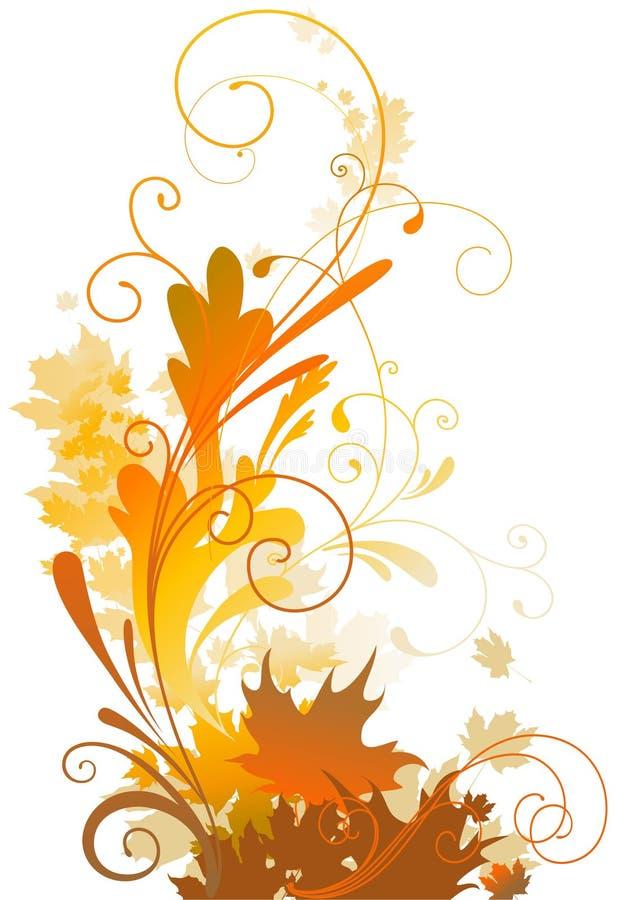 Herbstauslegung vektor abbildung
