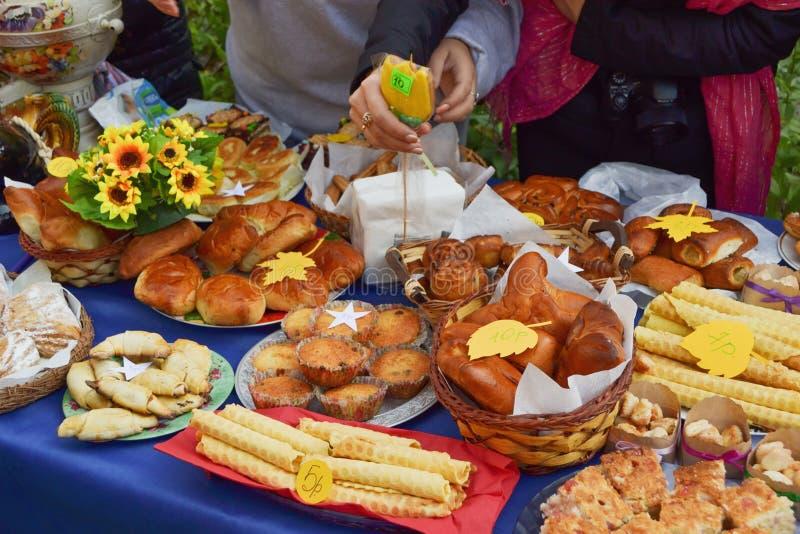 Herbsterntefest stockfotos