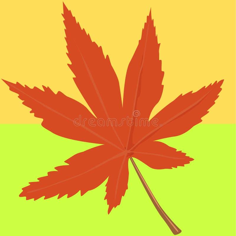 Herbstfarben lizenzfreie abbildung