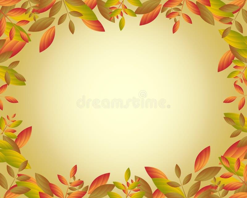 Herbstfeld lizenzfreie abbildung