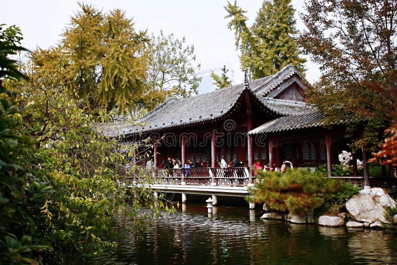 Herbstgedächtnis Zhengzhou lizenzfreies stockbild