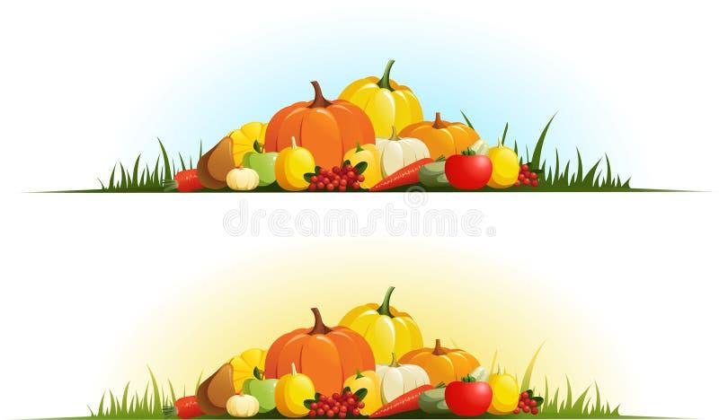 Herbstgeschenke vektor abbildung