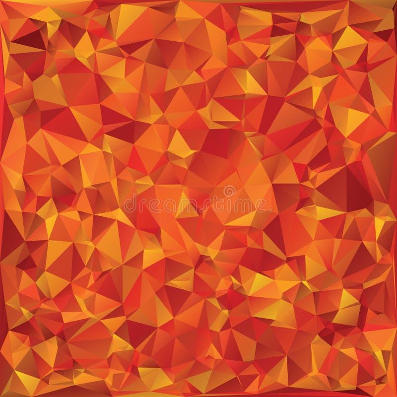 Herbstglasmosaik lizenzfreie abbildung